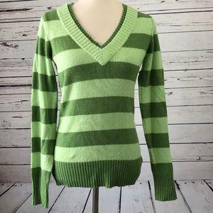 Burton Small Stripe Sweater Ski Snowboard Green